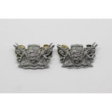 Pair of Dorset Constabulary Collar Badges
