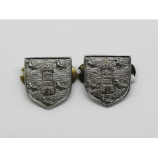 Pair of Sussex Constabulary Collar Badges