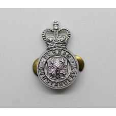Durham Constabulary Collar Badge - Queen's Crown