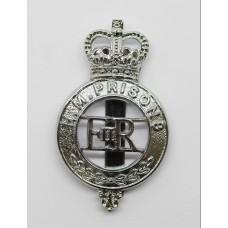 H.M. Prisons Cap Badge - Queen's Crown