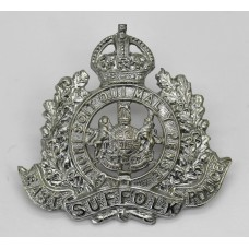 East Suffolk Police Cap Badge - King's Crown