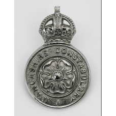 Lancashire Constabulary Cap Badge - King's Crown