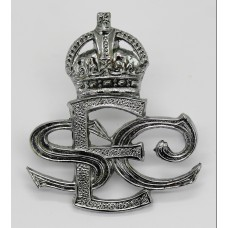 Exeter Special Constabulary Cap Badge - King's Crown