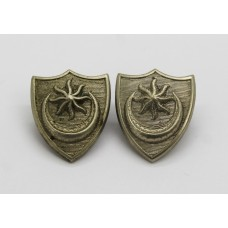 Pair of Portsmouth City Police Collar Badges