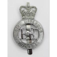 West Midlands Police Cap Badge - Queen's Crown