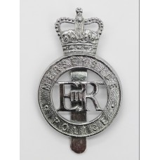 Merseyside Police Cap Badge - Queen's Crown