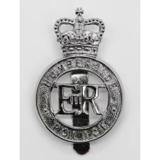 Humberside Police Cap Badge - Queen's Crown