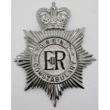 Gwent Constabulary Helmet Plate - Queen's Crown