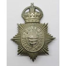 Dover Police Force Helmet Plate - King's Crown