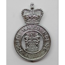 North Wales Police Cap Badge - Queen's Crown