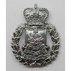 Bermuda Police Cap Badge - Queen's Crown