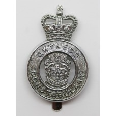 Gwynedd Constabulary Cap Badge - Queen's Crown