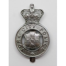York City Police Cap Badge - Queen's Crown
