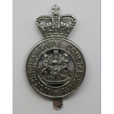 Nottinghamshire Constabulary Cap Badge - Queen's Crown