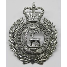 Berkshire Constabulary Wreath Helmet Plate - Queen's Crown