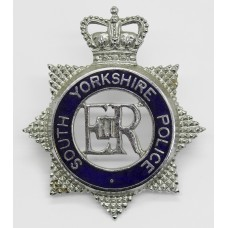 South Yorkshire Police Senior Officer's Enamelled Cap Badge - Que