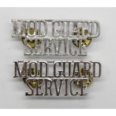 Pair of Ministry of Defence Guard Service (MOD GUARD/SERVICE) Ano