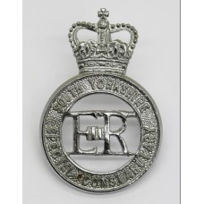 South Yorkshire Special Constabulary Cap Badge - Queen's Crown