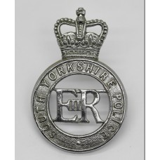 South Yorkshire Police Cap Badge - Queen's Crown