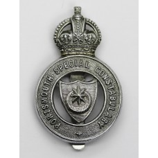 Portsmouth Special Constabulary Cap Badge - King's Crown