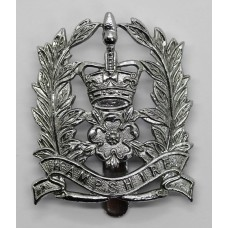 Hampshire Constabulary Constable's Cap Badge - Queen's Crown