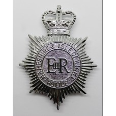 Hampshire & Isle of Wight Police Helmet Plate