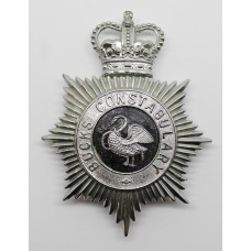 Buckinghamshire Constabulary Helmet Plate - Queen's Crown
