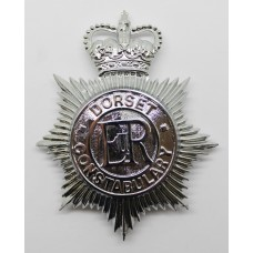 Dorset Constabulary Helmet Plate - Queen's Crown