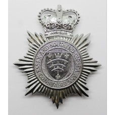 Essex and Southend-on-Sea Constabulary Helmet Plate - Queen's Crown