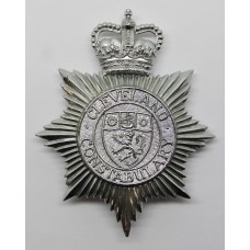 Cleveland Constabulary Helmet Plate - Queen's Crown