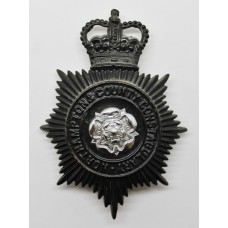 Northampton & County Constabulary Night Helmet Plate - Queen'