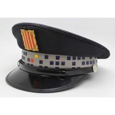 Spanish Police Peak Cap