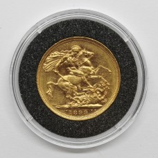 1899 S Victorian 22ct Gold Full Sovereign Coin (Sydney Mint)