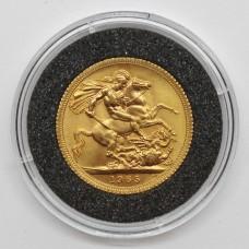 1965 Elizabeth II 22ct Gold Full Sovereign Coin