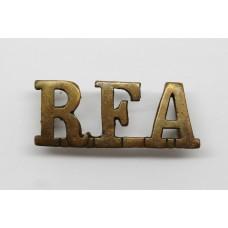 Royal Field Artillery (R.F.A.) Officer's Shoulder Title